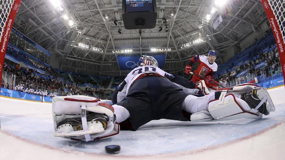 Czech Republic Eliminate Us Ice Hockey Team At Pyeongchang Winter