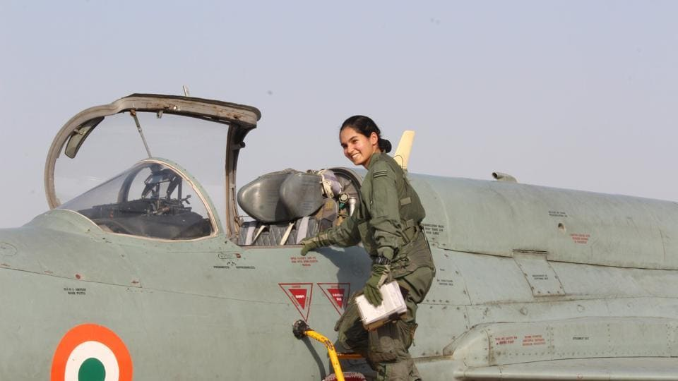 Avani Chaturvedi,Fighter jet,First Indian woman