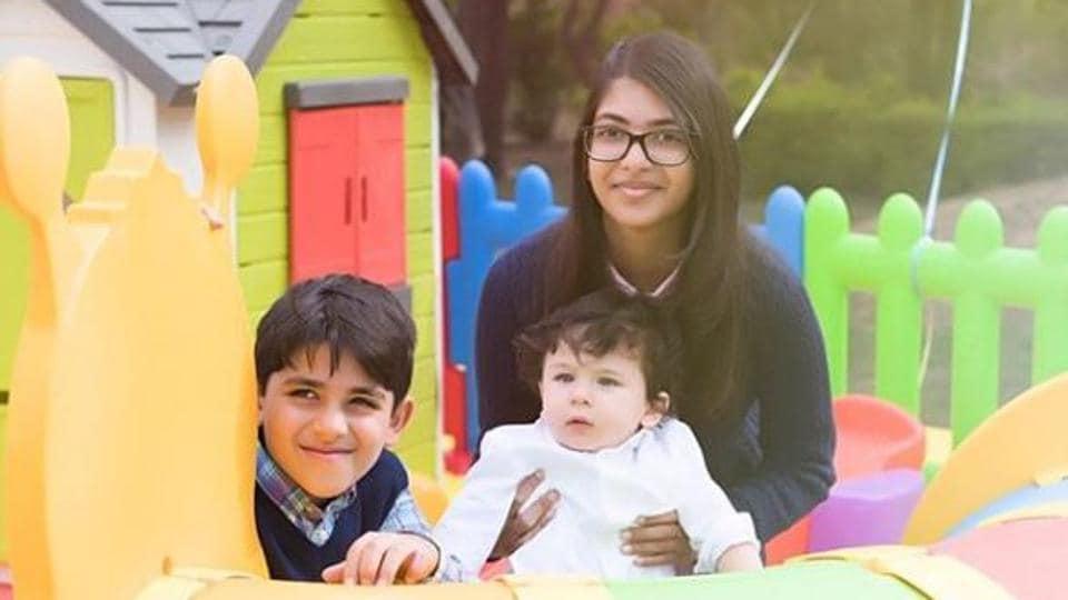 Taimur Ali Khan,Saif AliKhan,Kareena Kapoor Khan