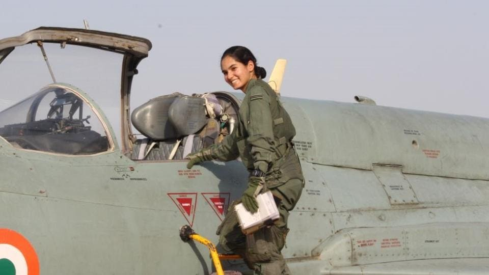 Scripting history, flying officer Avani Chaturvedi has become the first Indian woman to fly a fighter aircraft, an Indian Air Force (IAF) official said. (ANI)