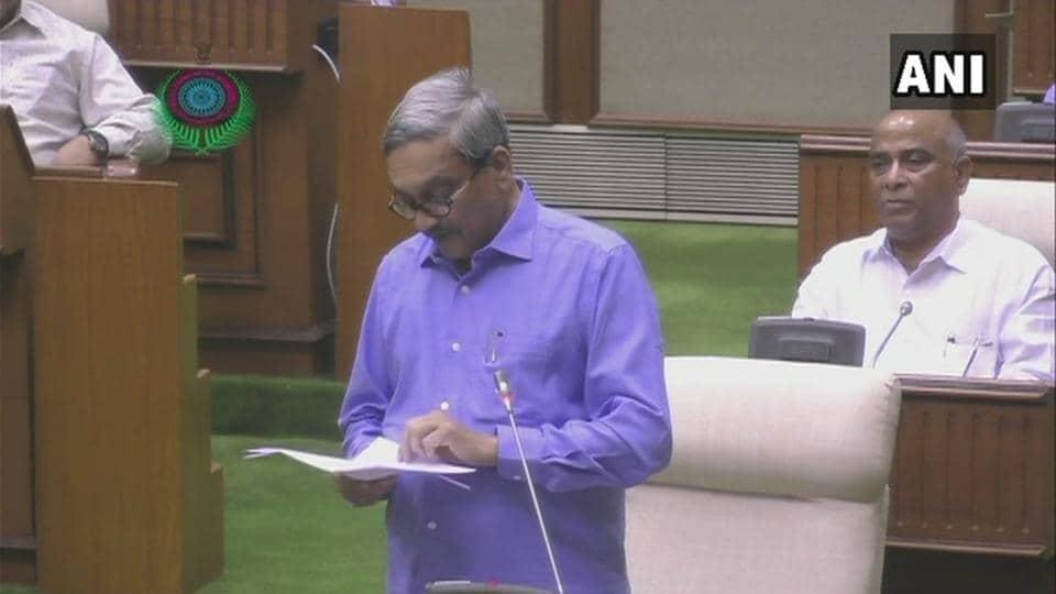 Manohar Parrikar,Goa budget,Manohar Parrikar in Goa
