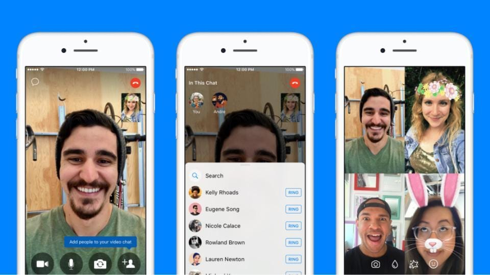 Messenger now lets you turn one-on-one call to group call without interruption