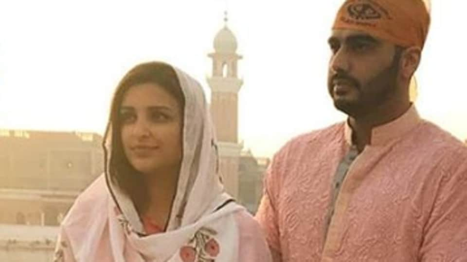 Parineeti Chopra,Arjun Kapoor,Golden Temple