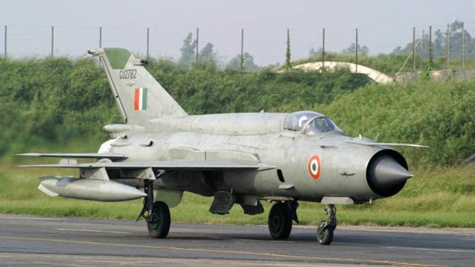 MiG-21 fighter aircraft,Chandigarh Municipal Corporation,Chandigarh