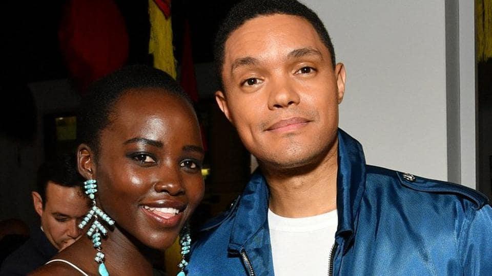 Black Panther,Lupita Nyong'o,Trevor Noah