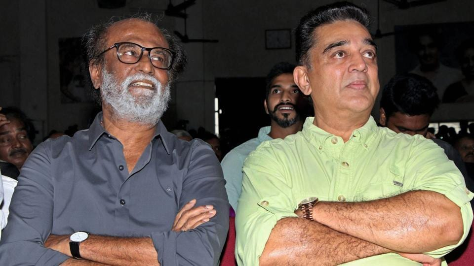 Kamal Haasan,Rajinikanth,Kamal Haasan party
