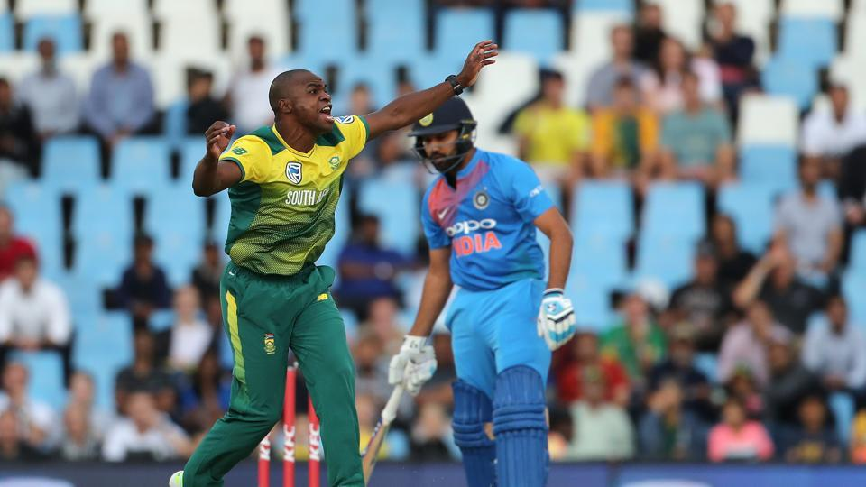 Junior Dala got the big wicket of Rohit Sharma for 0. (BCCI)