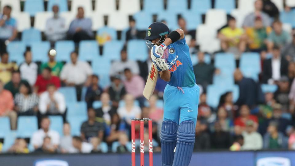 Virat Kohli also fell cheaply as India stuttered. (BCCI)