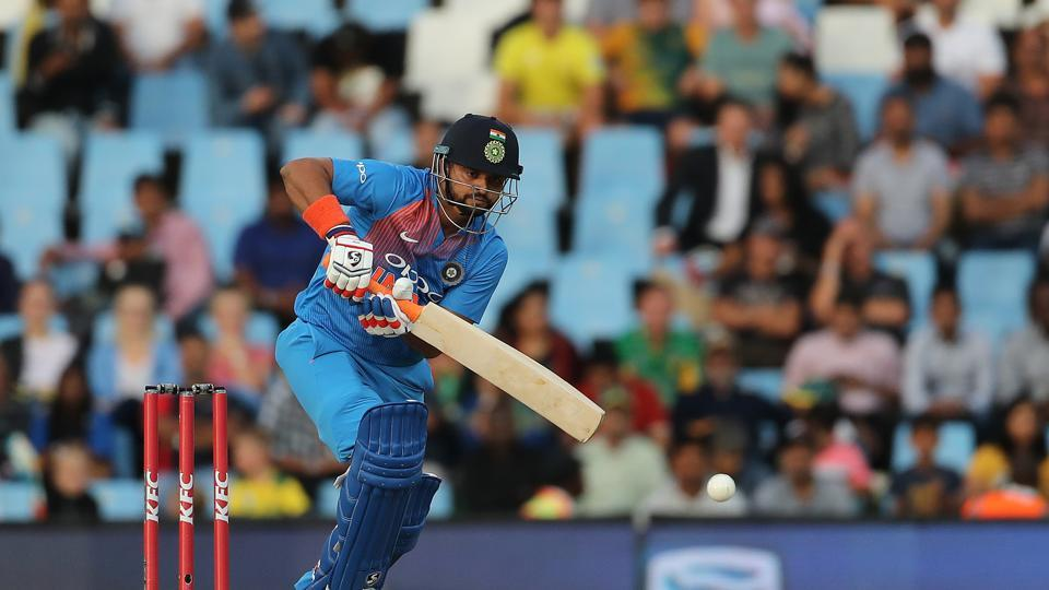 Suresh Raina played a positive innings and revived India. (BCCI)