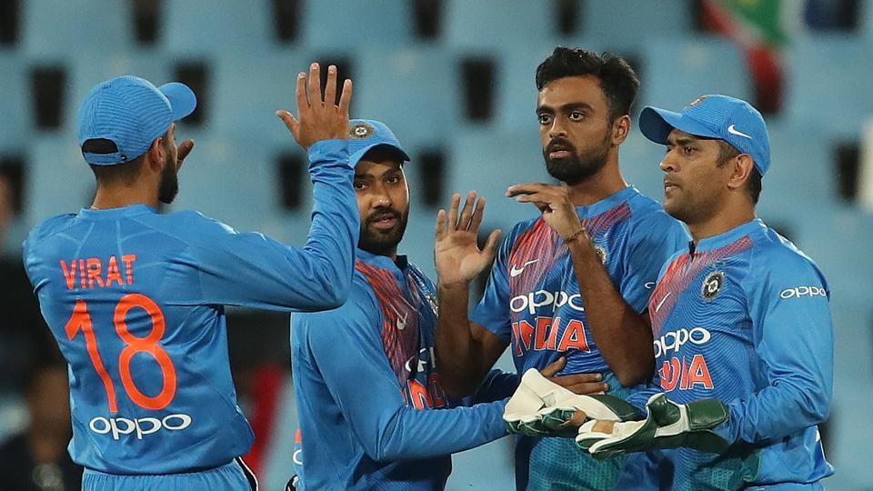 Jaydev Unadkat  got the wicket of Klassen for 69 but it was a bit too late for India.  (BCCI)