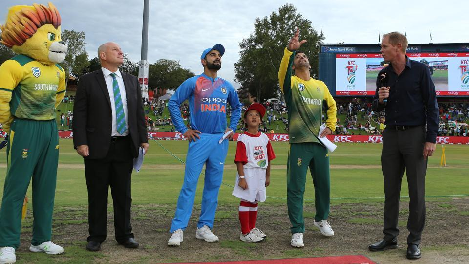 South Africa won the toss and chose to bowl in overcast conditions vs India in Centurion. (BCCI)