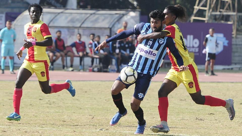 I-League,East Bengal,Minerva Punjab FC
