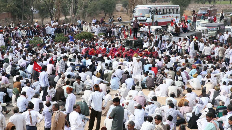 Rajasthan news,Akhil Bharatiya Kisan Sabha,Tatiyawas