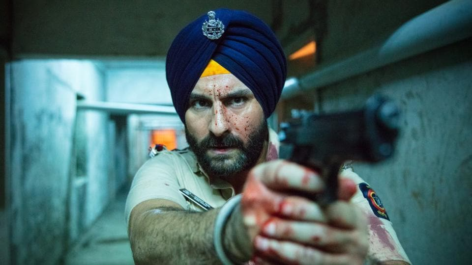 Saif Ali Khan in a still from Sacred Games.