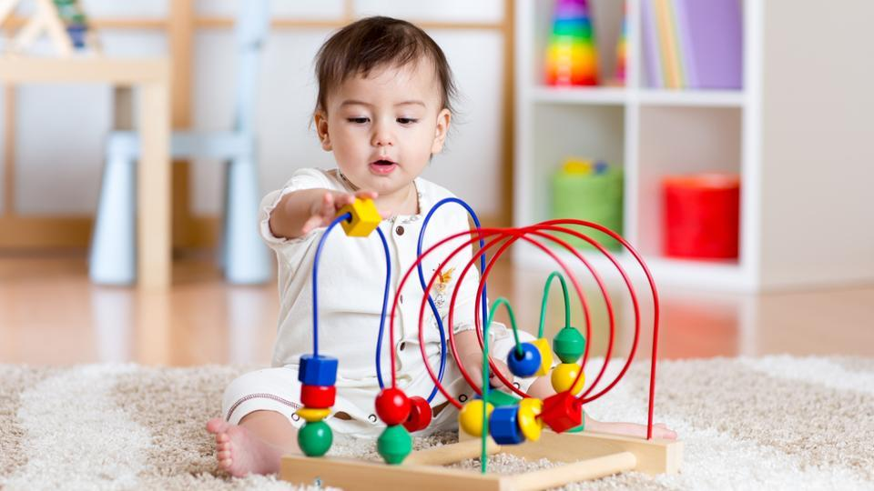 If you present infants with the stimuli in a more appropriate way for the visual system, they can learn abstract rules visually, just as they can from speech.