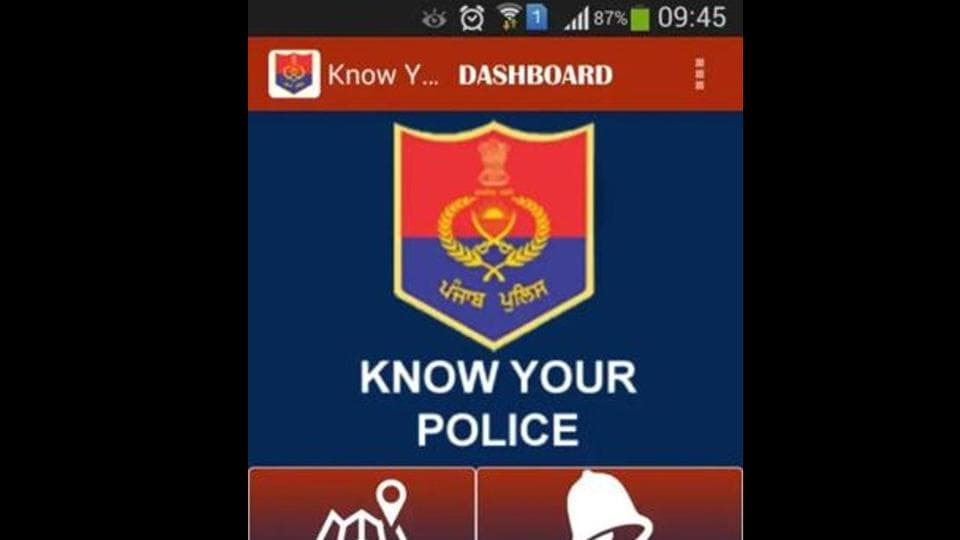 Know Your Police app,Punjab Police,Saanjh project