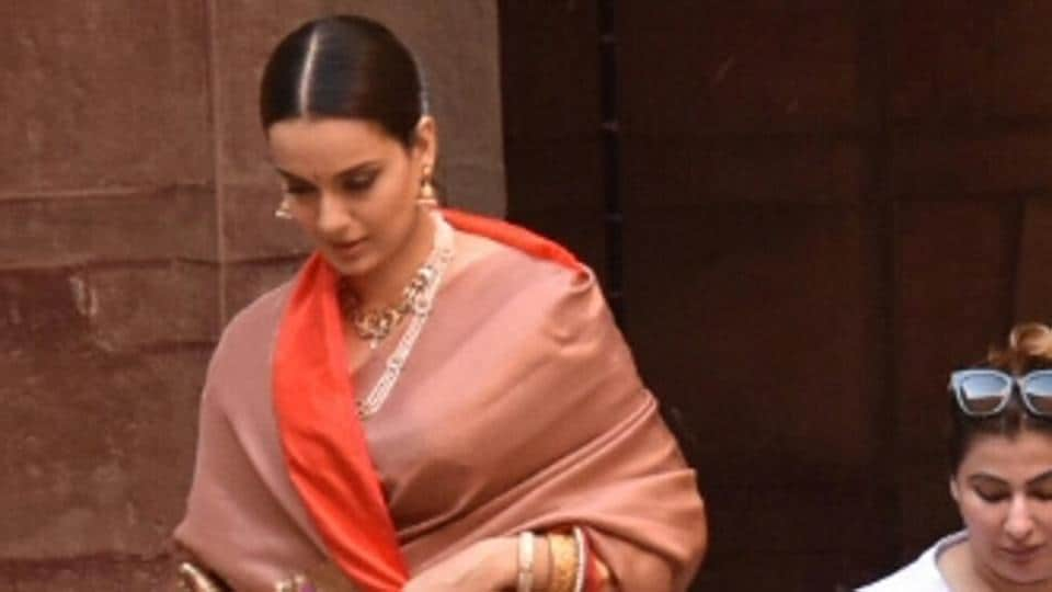 Manikarnika,Kangana Ranaut,Kangana Ranaut Manikarnika Look