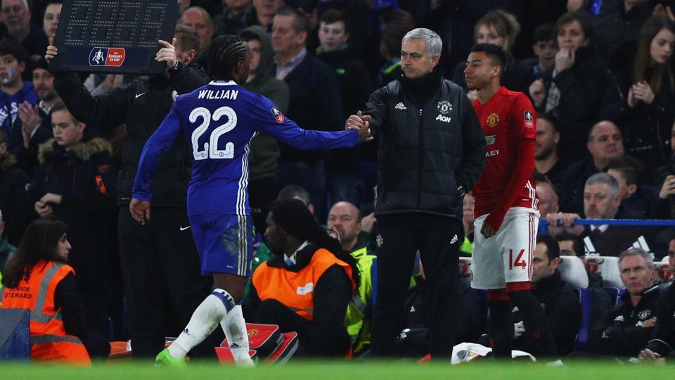 Willian,Jose Mourinho,Manchester United