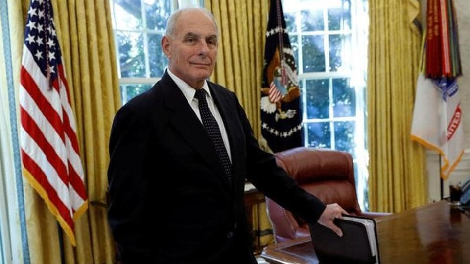 John Kelly (pictured above) and HR McMaster have chafed at US President Donald Trump's treatment of them in public and in private, which both at times have considered insulting.