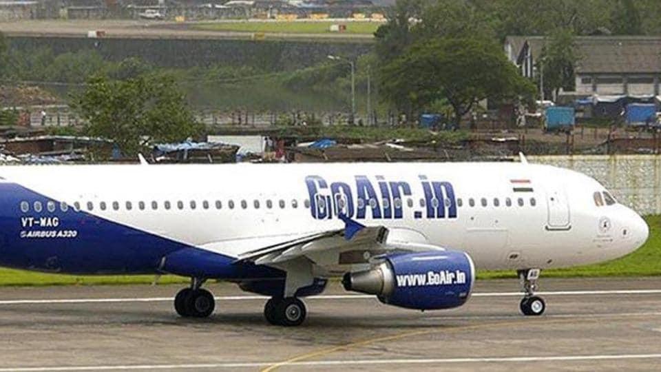 GoAir flight,flight grounded,Leh airport