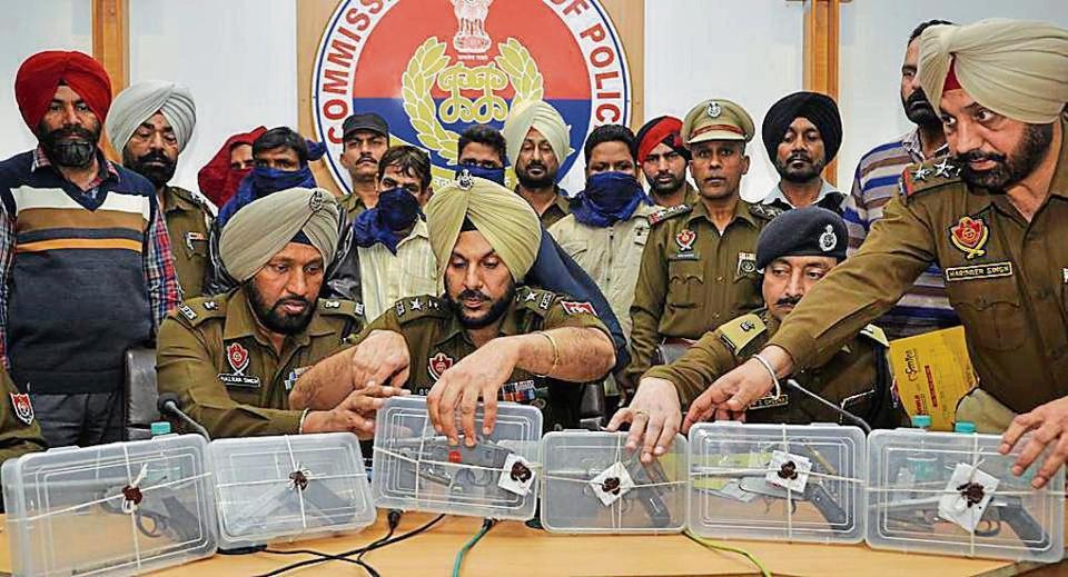 Punjab gangster,supari,contract killing
