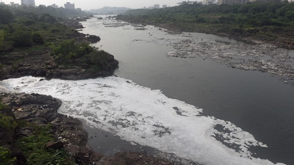 Mula-Mutha, which flows through the PMC, Pimpri Chinchwad Municipal Corporation and Khadki and Pune Cantonment, covers a distance of 44 km.