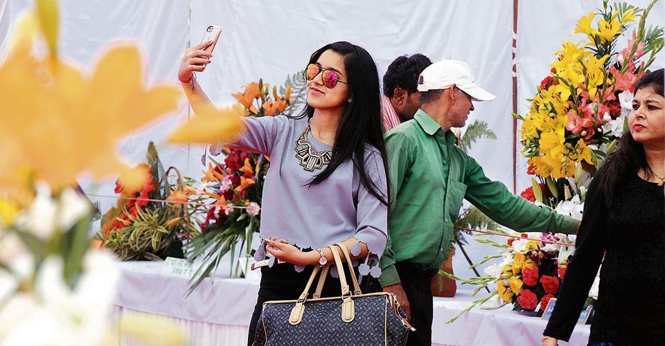 Flower Show,HUDA,DC Gurgaon