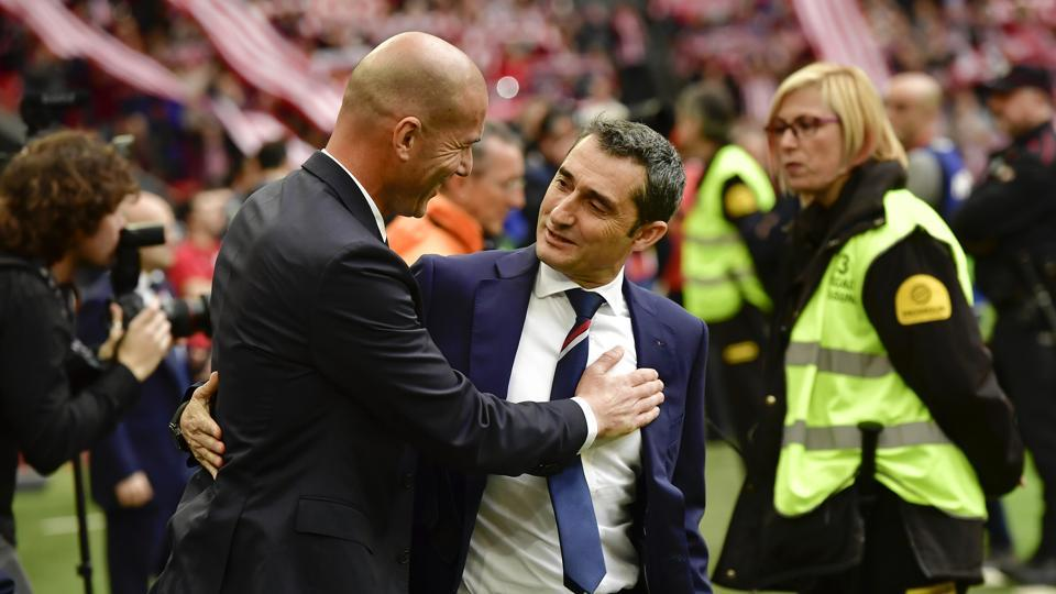 Zinedine Zidane,Ernesto Valverde,UEFA Europa League