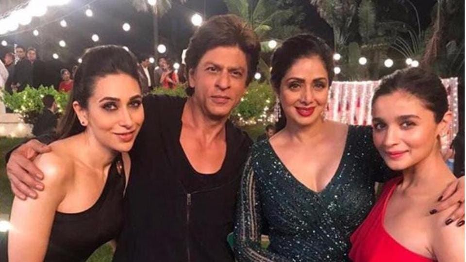 Sridevi's last film will be Shah Rukh Khan's Zero, to be directed by Aanand L Rai.