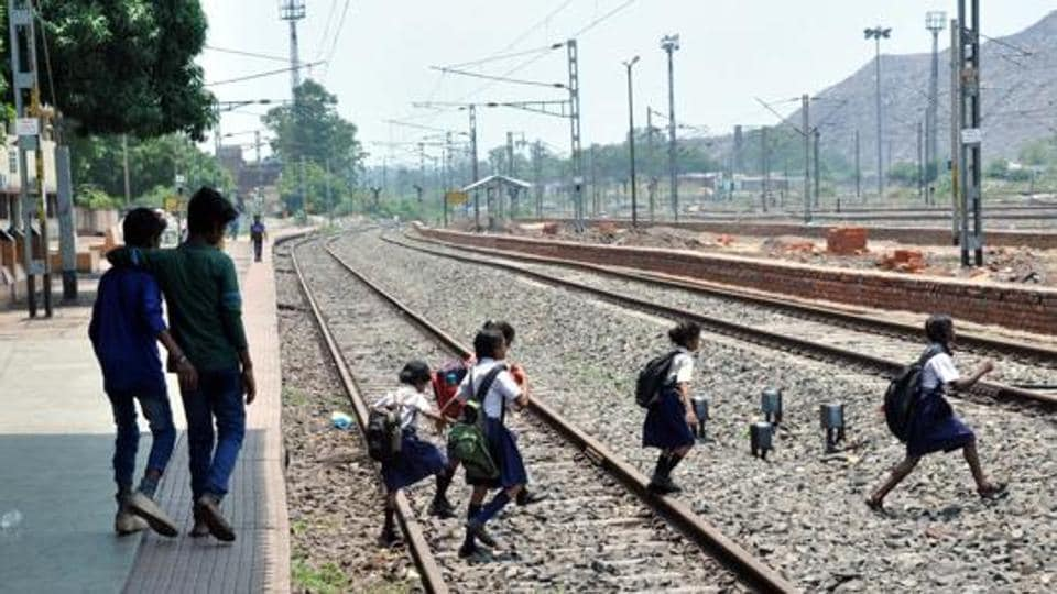 Six mowed down by train in UP's Hapur