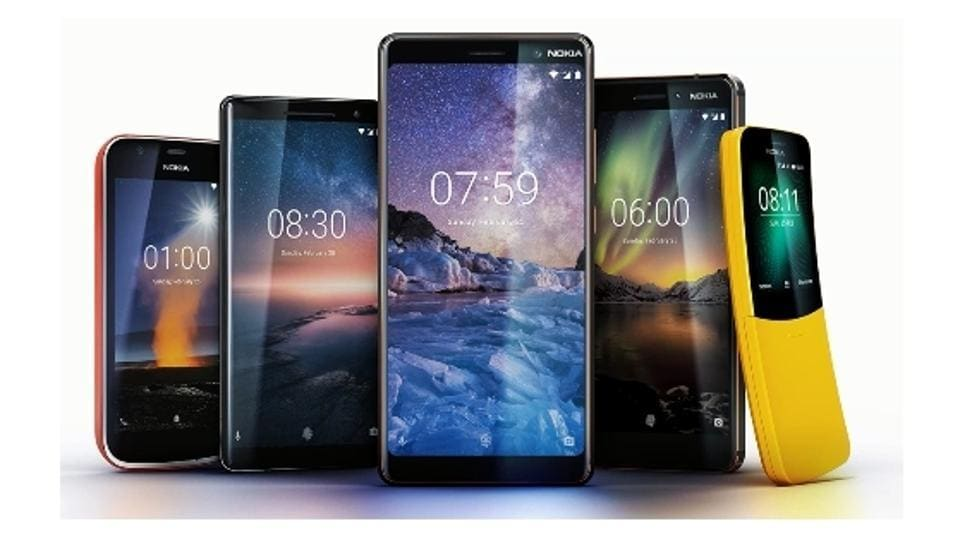 New Nokia phones launched.