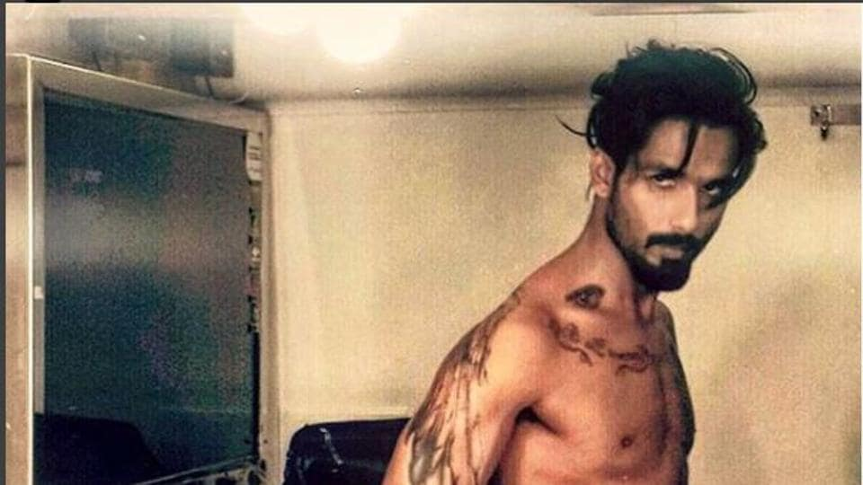 Actor Shahid Kapoor played the role of a musician in the film Udta Punjab.
