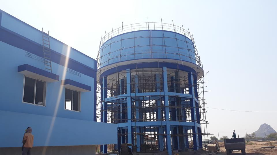 The water treatment plant at S Lingotam village in Nalgonda district will provide clean and safe drinking water to thousands of households in 585 villages.