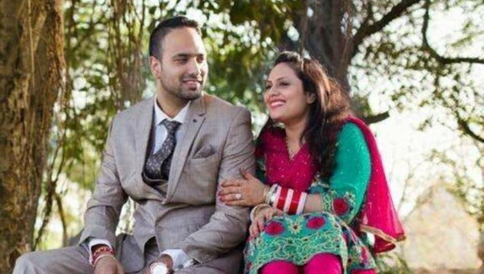 The dead couple has been identified as Arpita Bagga, 28, and her 30-year-old husband, Mohit Bagga