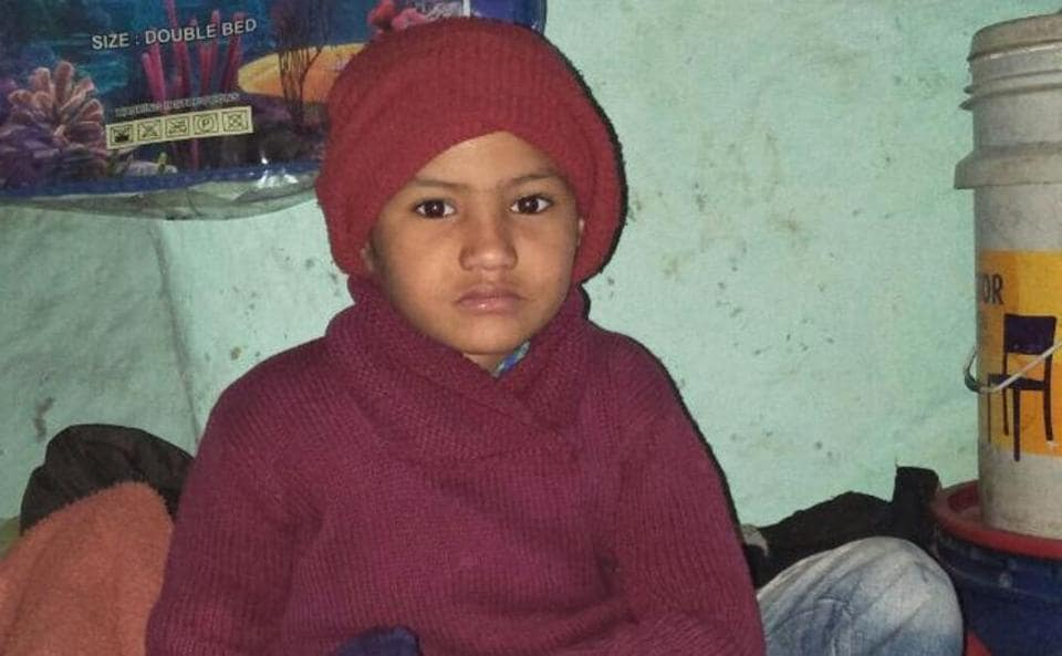 5-year-old Ujjal