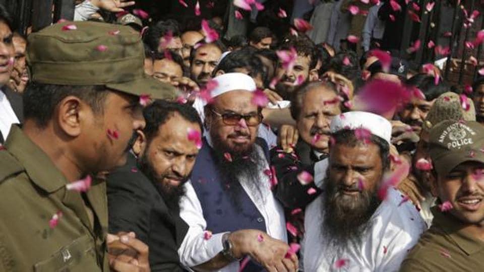 Husain Haqqani,Pakistan,Hafiz Saeed
