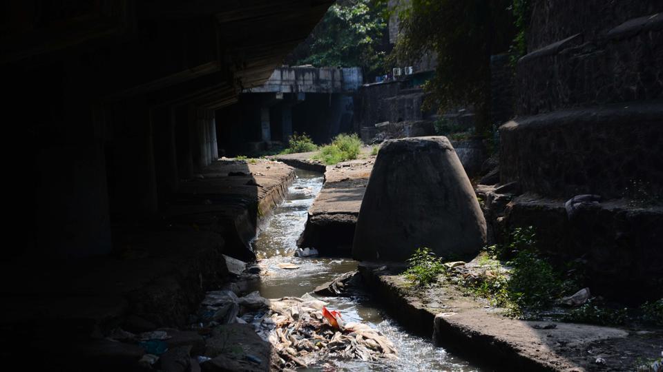 Canal near Ganesh peth where bodies were found.
