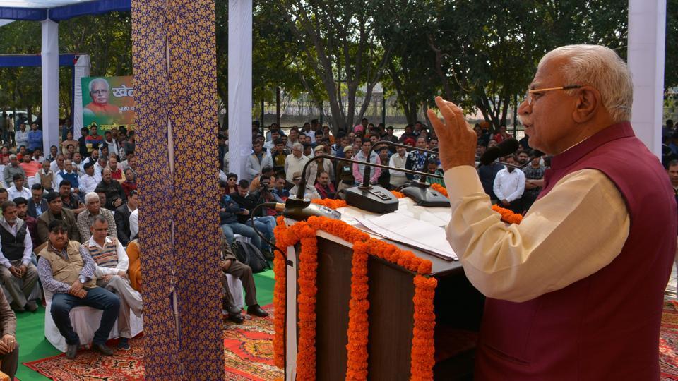 Panchkula news,Manohar Lal Khattar,Tau Devi Lal Stadium
