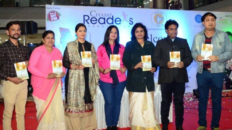 Sagar Aazad of Champ Readers Association in Kota.