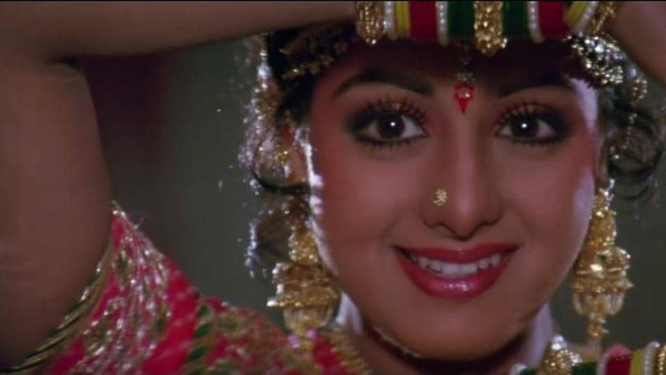 rip sridevi  10 songs to remind you how there has never been anyone quite as gorgeous as her