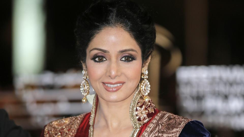 Sridevi died in Dubai after suffering a cardiac arrest. In this Dec. 1, 2012 file photo, Sridevi arrives at the Marrakech International Film Festival in Marrakech.