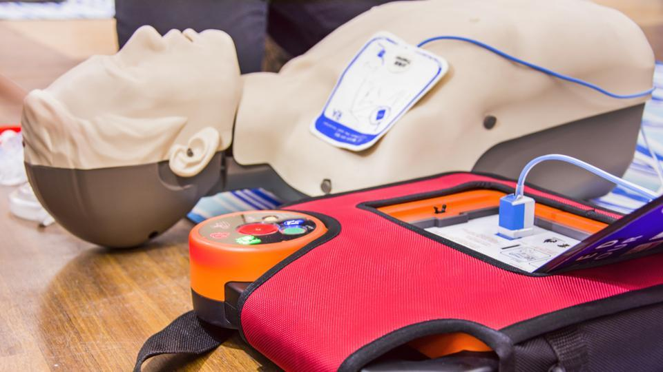 Cardiac arrest,Heart Attack,automated external defibrillator