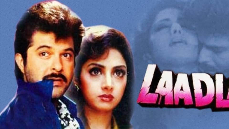 After Divya Bharti's death, Sridevi replaced her in Raj Kanwar's Laadla.