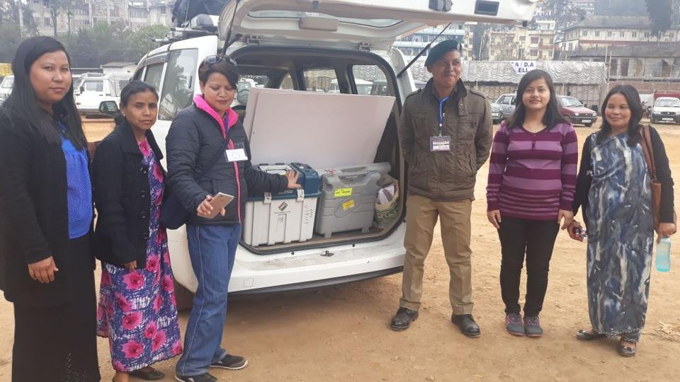 16.5 per cent polling in Meghalaya till 9.30 am