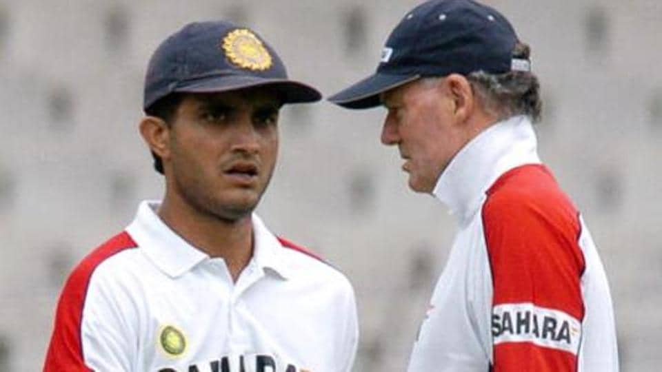 On Greg's appointment, former Team India skipper Sourav Ganguly says that when there was discussion in 2004 on who could succeed John Wright as the coach, Chappell's name flashed in his mind first.