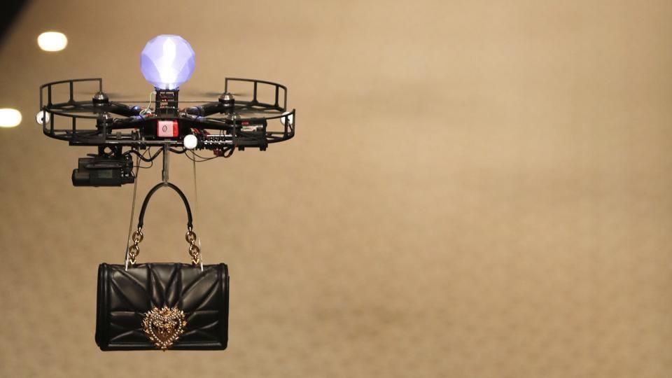 Drones As Models,Runway,Drones On Runway
