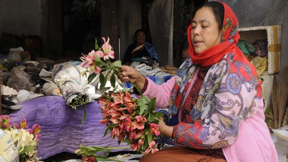 Women in Nagaland are everywhere — they man restaurants, form more than 60 per cent of the agricultural labour, they run shops and sell wares in the markets. But when it comes to decision making, be it in the village council or city corporations or the assembly, women are missing. (Samir Jana / HT Photo)
