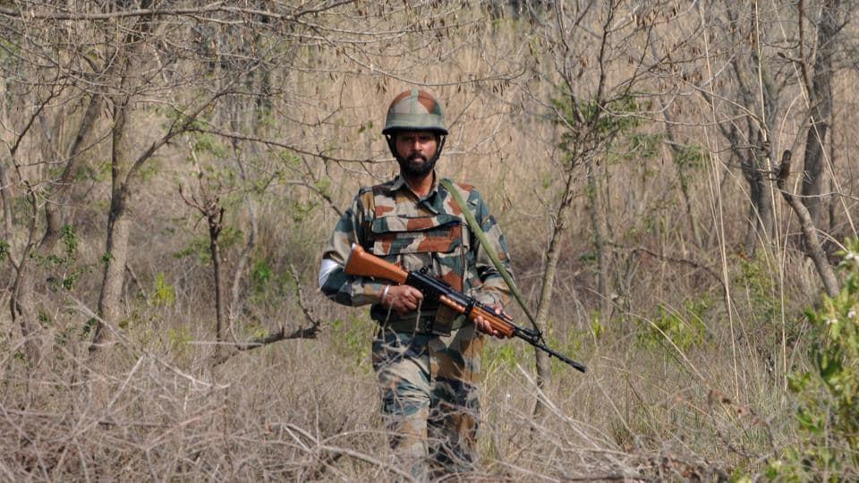 BSF,Infiltration bid,Jammu and Kashmir