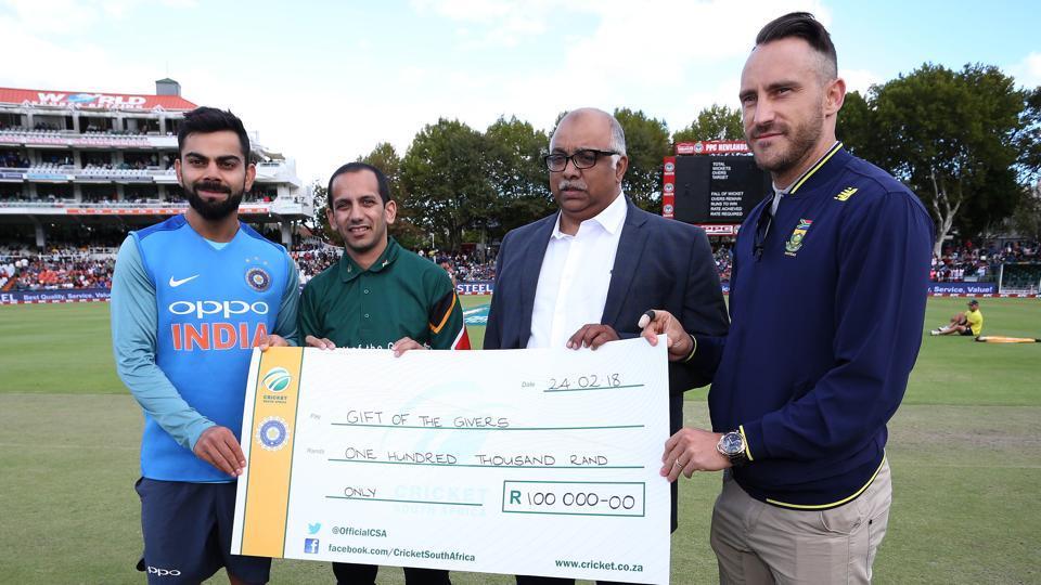 Indian cricket team,South African cricket team,Virat Kohli