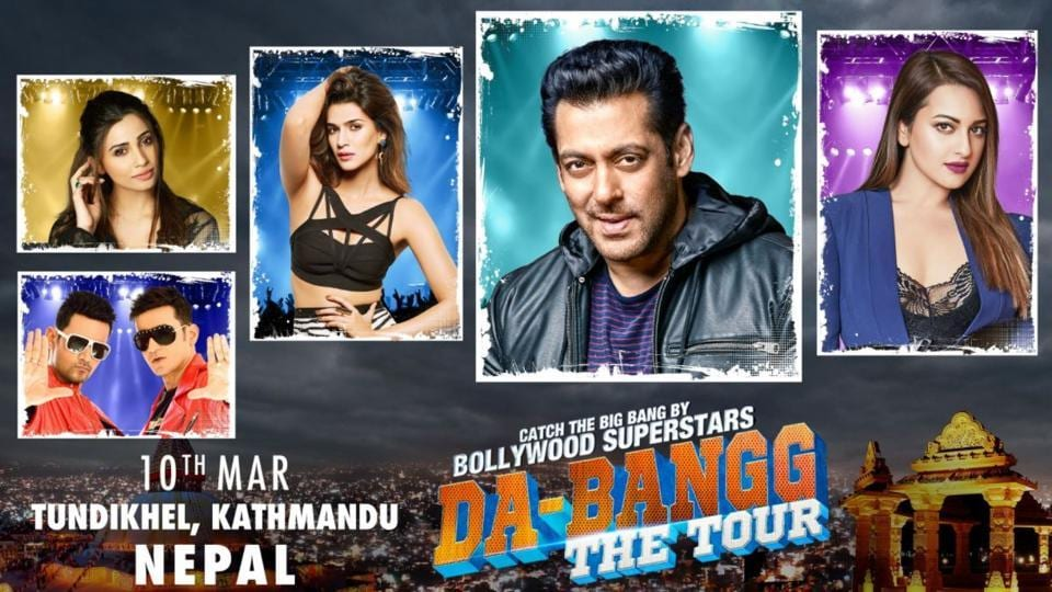 Da-Bangg The Tour,Salman Khan,CPN-Maoist